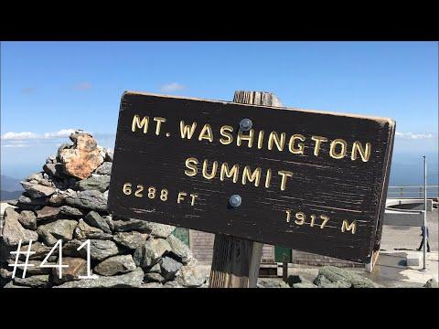 2019 Appalachian Trail Thru Hike Mount Washington Day 98