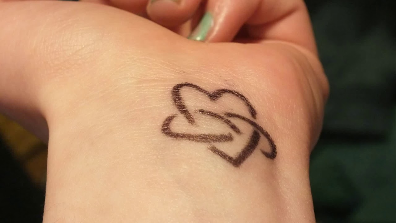 Small Tattoos For Girls On Wrist Youtube