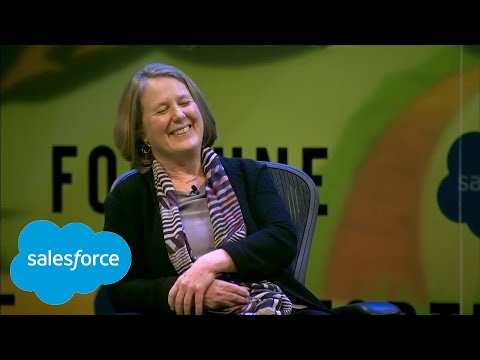 Fireside Chat with Marc Benioff and Diane Greene