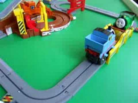 My Thomas Big Loader Set Youtube