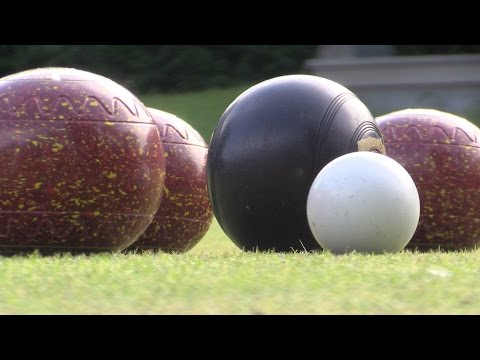 The weight of a bowl in lawn bowling