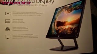 HP Pavilion 21.5-Inch IPS LED Monitor UNBOXING $99