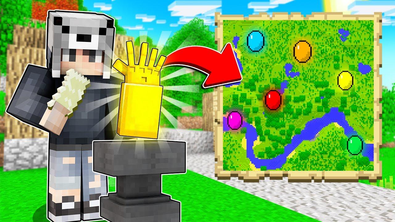 Download SONSUZLUK ELDİVENİ YAPTIM 😱 - Minecraft