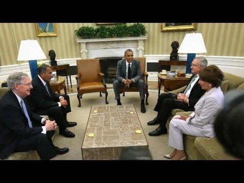 Obama briefs lawmakers on Iraq