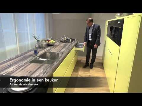 Ergonomie De Keuken : Ergonomie in de keuken keukencentrum berkers youtube