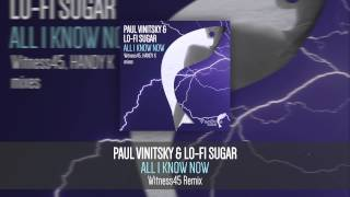Paul Vinitsky & Lo Fi Sugar - All I Know Now (Witness45 Remix) {Uplifting Vocal Trance}