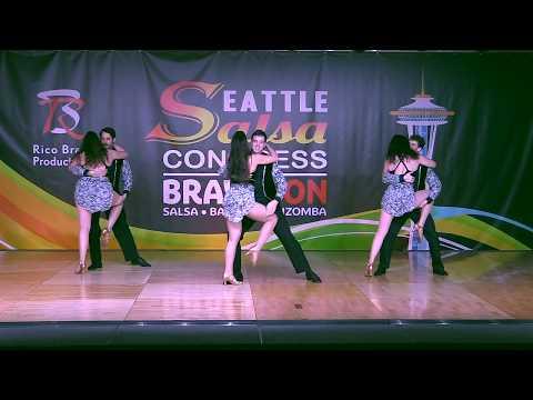 Salsa Caliente Touring Team at the 2017 Seattle Salsa Congress