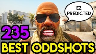 "CSGO - ""PREDICTION MASTER"" - BEST ODDSHOTS #235 (+GIVEAWAY)"