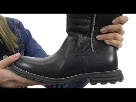 UGG Australia Brooks Leather Boots discounts cheap online zmg4vDC8
