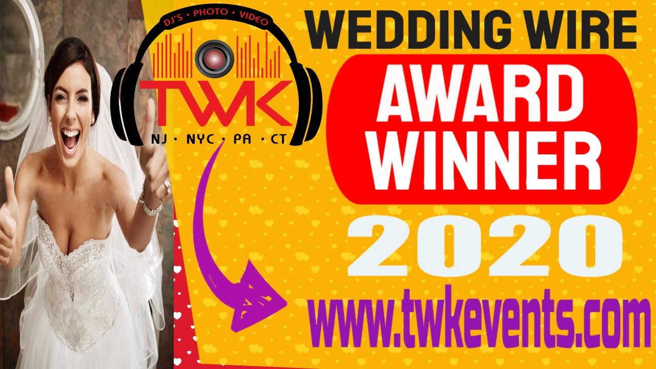 💯 Best Wedding DJ In NJ | TWK Events ~ Wedding DJ In New Jersey | NJs Best Wedding DJ
