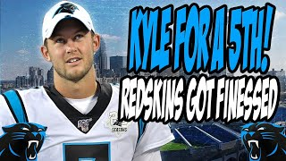 Carolina Panthers Trade QB Kyle Allen to Redskins for 5th Round Pick