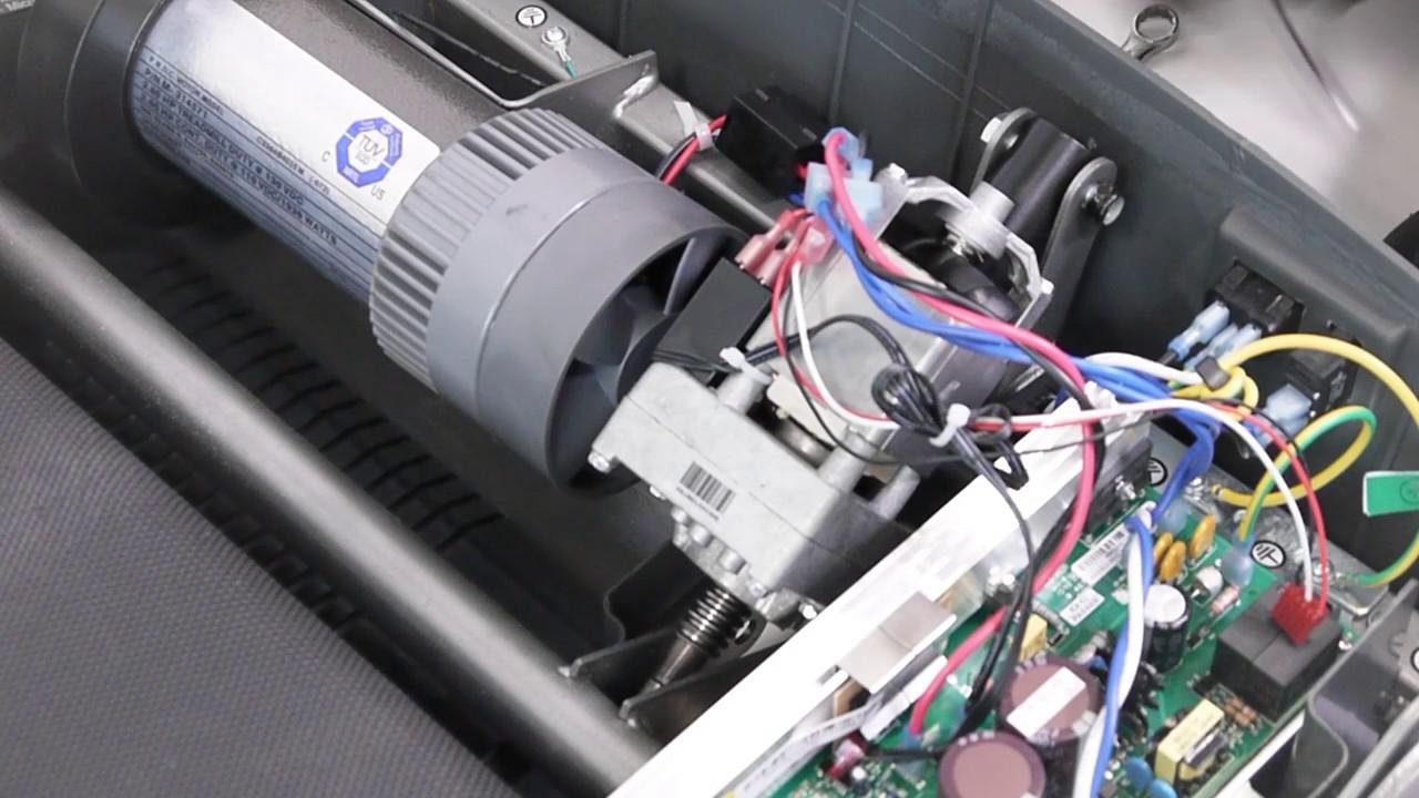 comment changer le moteur d inclinaison sur un tapis de course tc2 tc3 tc4 et tc5