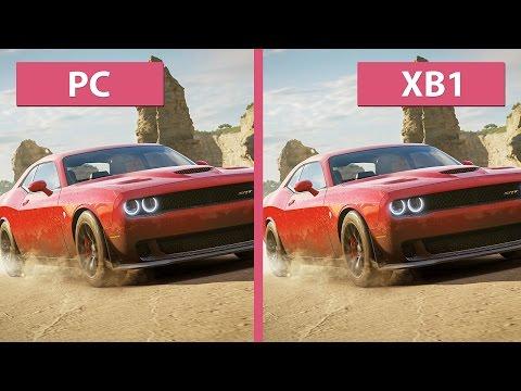Сравнение графики в Forza Horizon 3 на Xbox One и PC