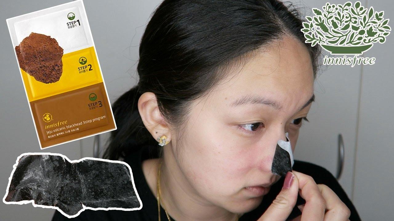 Innisfree jeju volcanic blackhead 3step program innisfree jeju volcanic blackhead 3step program 3 first impression and review youtube sciox Choice Image