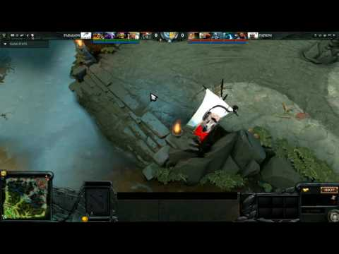PAPION V vs. PARAGON ESPORTS, game 2, Northern Europe + Post CIS Qualifier