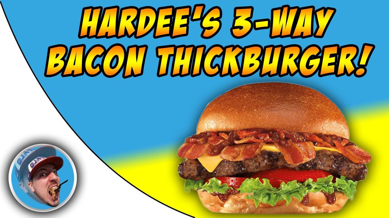 Hardees Bacon Burger Girls