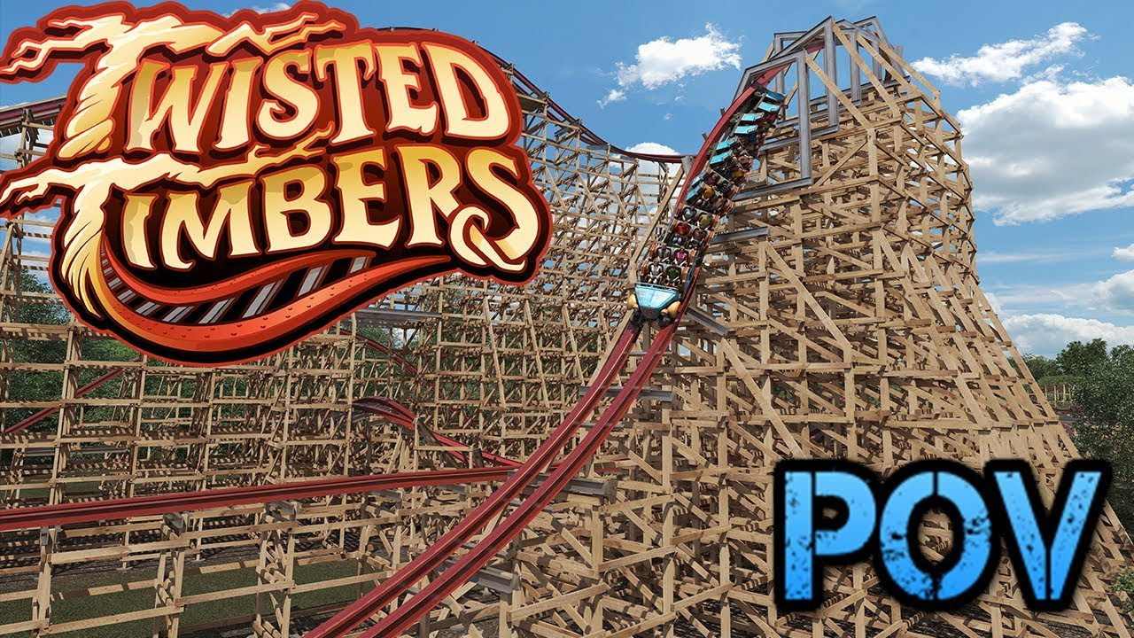 Twisted Timbers - Kings Dominion Official POV Animation - YouTube