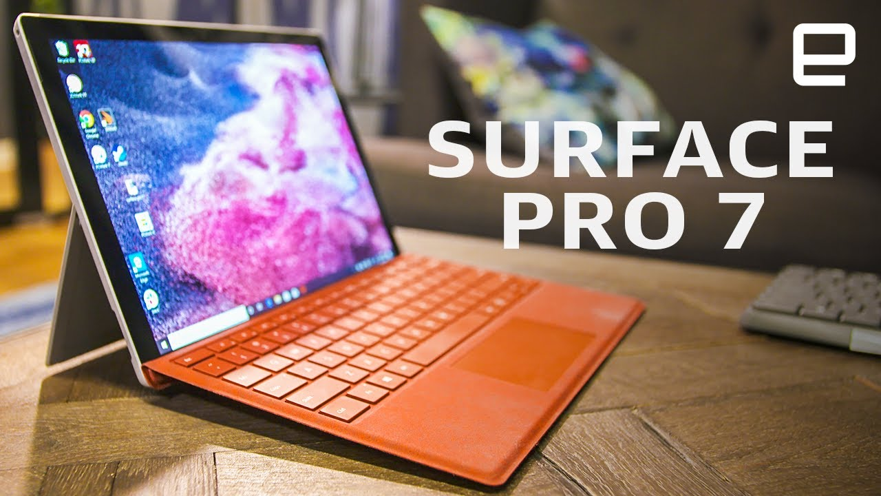 Microsoft Surface Pro 7 Review Usb C Upgrade Battery