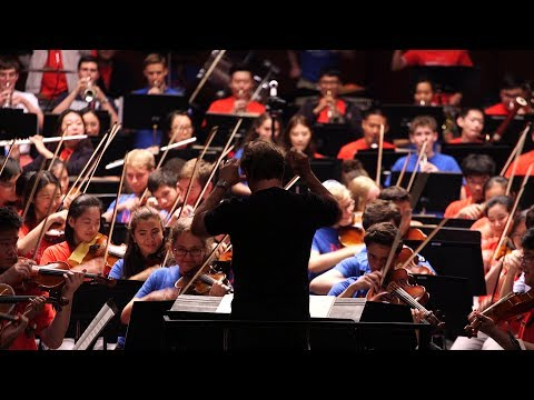 National Youth Orchestra of China Prepares for International Concert Tour