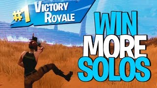 1 SECRET TIP to WIN MORE SOLOS in Fortnite!