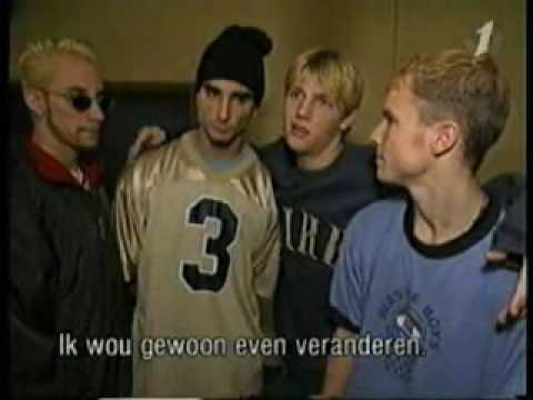 Backstreet boys Muziekdoos Interview 12-8-1996