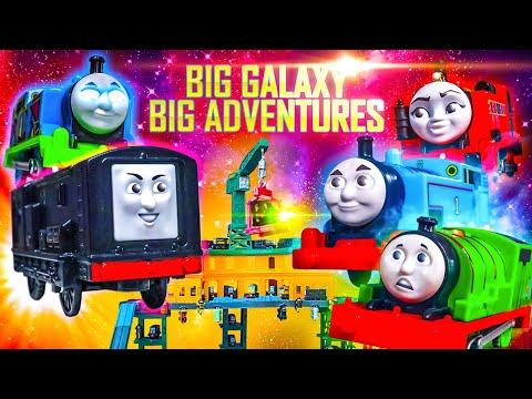 The Steam Awakens | Big Galaxy Big Adventures #5 | Thomas & Friends