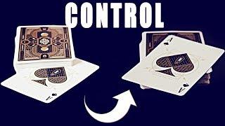 Karte nach oben zaubern mit dem Push off Second Deal Control - Karten kontrollieren Tutorial