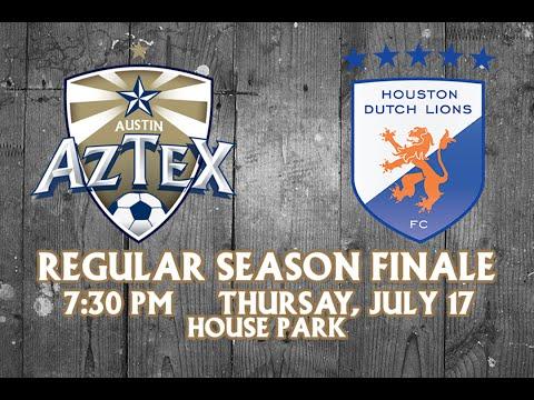 Austin Aztex vs. Houston Dutch Lions