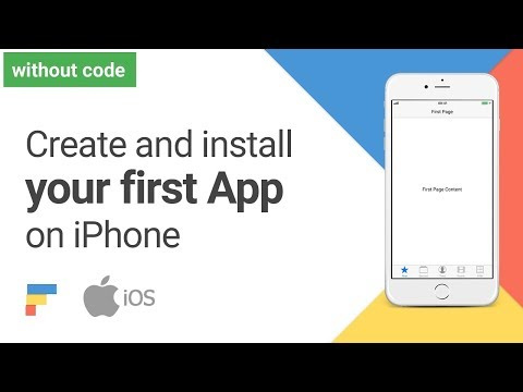 Create and install your first App on iPhone Tutorial