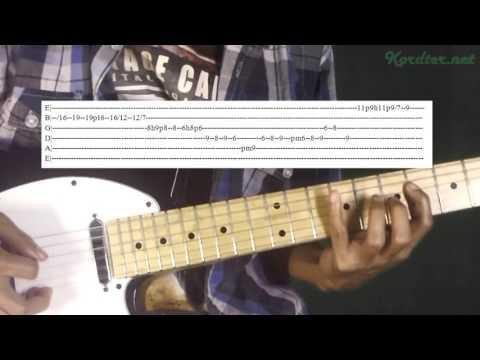 Noah Separuh Aku Gitar Melody Lesson (With Tab)