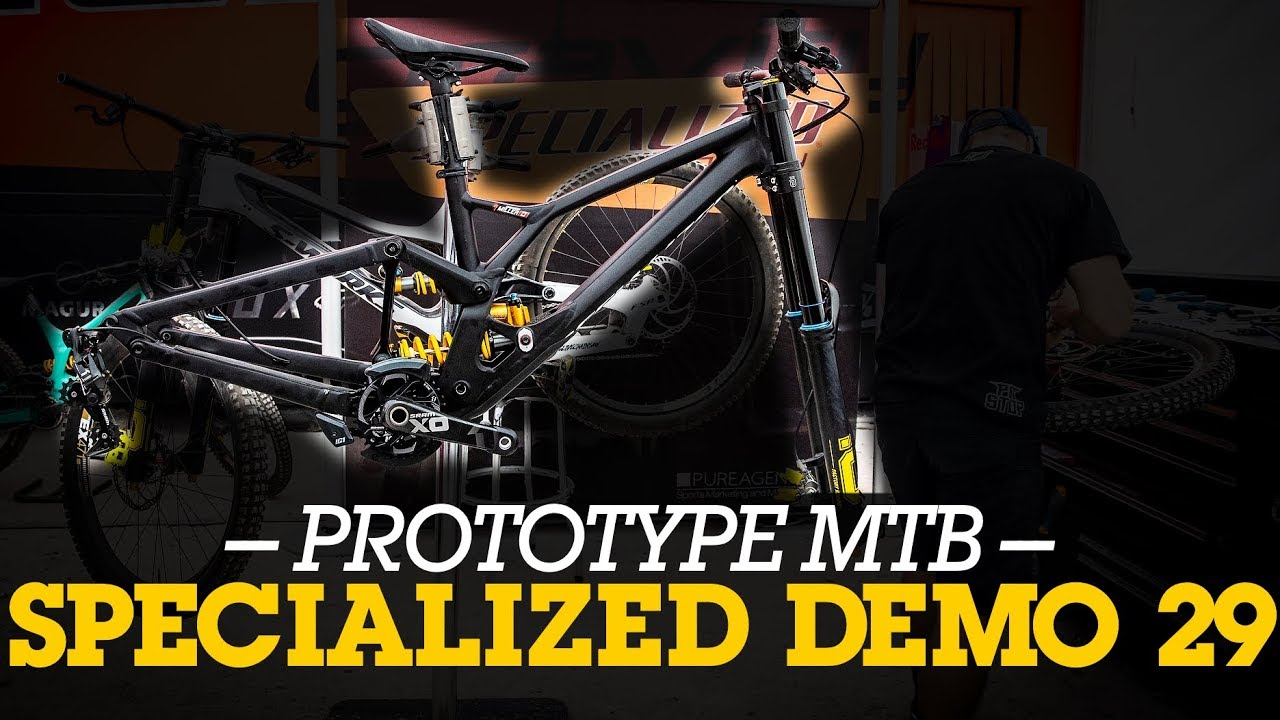PROTOTYPE MTB - Specialized Demo 29er from Fort William World Cup