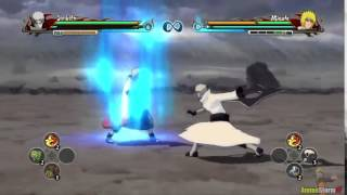 Obito Jinchuuriki Vs Bijuu Minato Mod   Naruto Shippuden Ultimate Ninja Storm Revolution