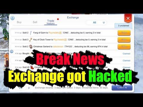 Ragnarok M Eternal Love Break News Exchange Shop Got Hacked