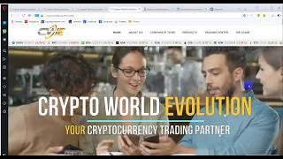 Отчет крипто ботов CWE за 21 день + 35% !!! в BTC .CryptoWorldEvolution