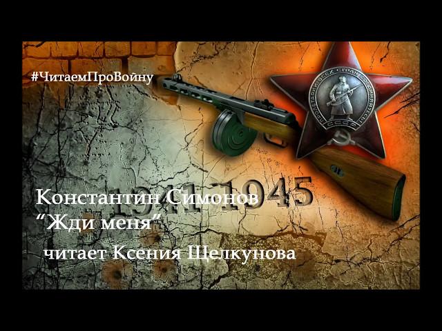 Изображение предпросмотра прочтения – КсенияЩелкунова читает произведение «Жди меня иявернусь…» К.М.Симонова