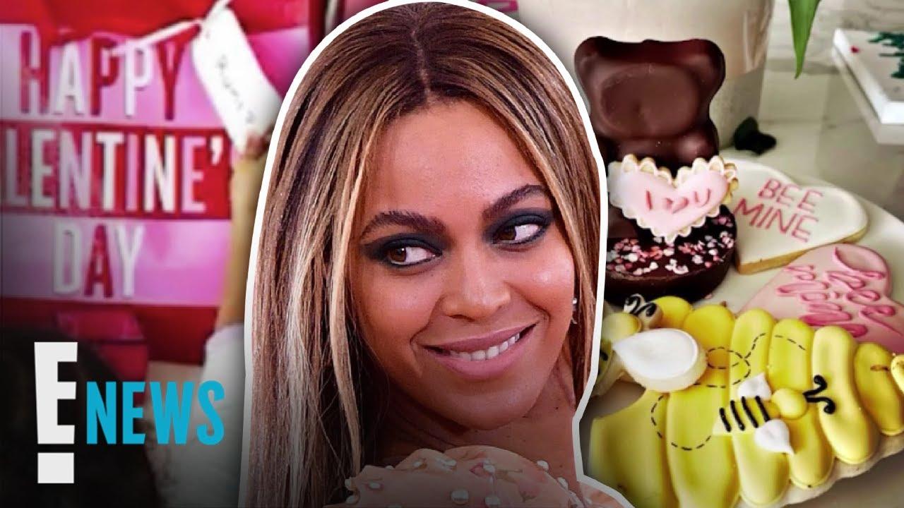 Beyoncé Shares New Valentine's Day Family Pics | E! News