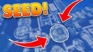 RARE Secret UNDERWATER Stronghold SEED in MCPE!! Minecraft Pocket Edition