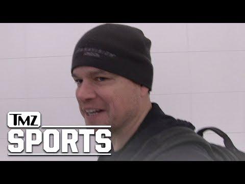 Matt Damon Says Gronk Deserved Suspension For Late Hit   TMZ Sports
