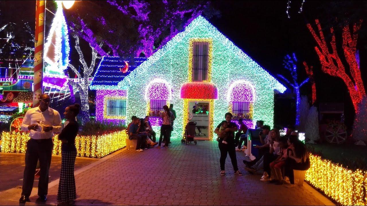 Navidad parque de las luces santo domingo rep blica - Luces de navidad ...