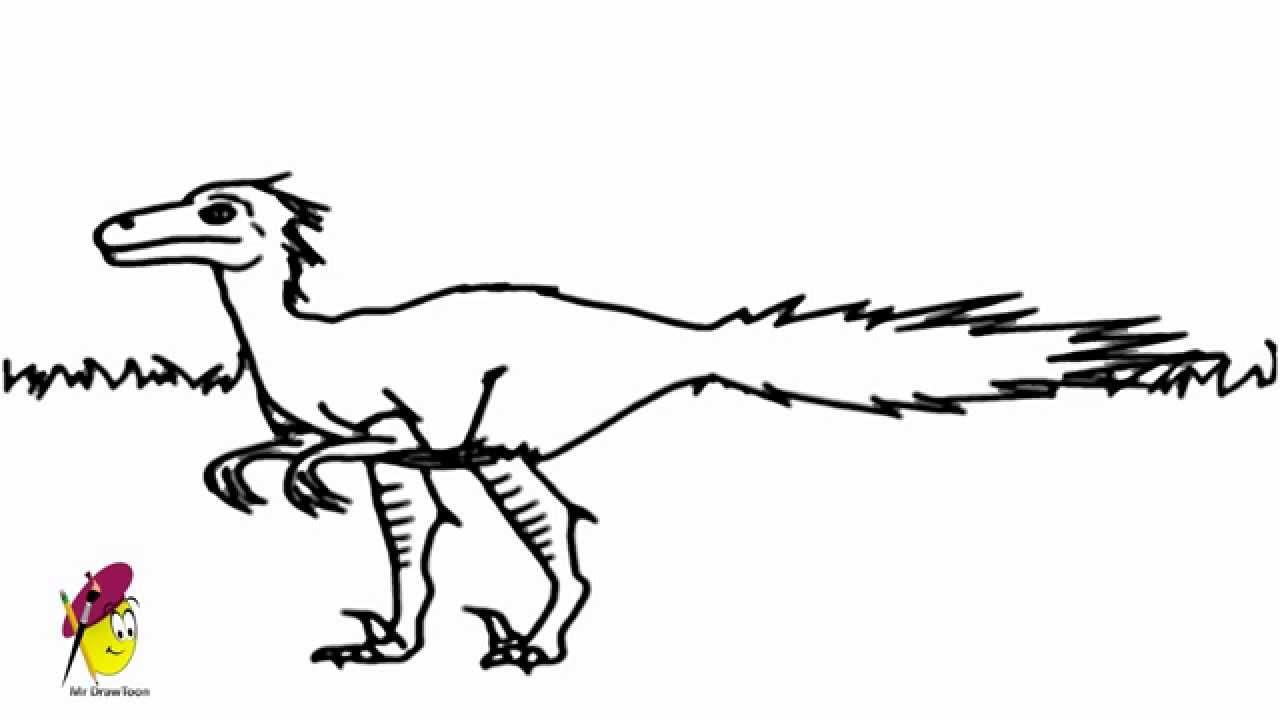 dromaeosaurus dino dan how to draw dinosaur from dino dan youtube. Black Bedroom Furniture Sets. Home Design Ideas