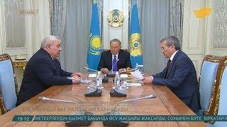 ҚР Президенті Нұрсұлтан Назарбаев ҰҚШҰ Бас хатшысымен кездесті