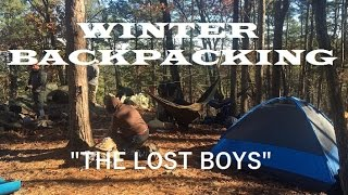"""Winter Backpacking - """"The Lost Boys"""""""