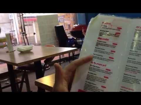 A foreign bar/ café in Changsha: Crave