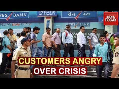 Yes Bank Crisis: Angry Customers Line Up Outside Banks, ATMs | India Today Ground Report