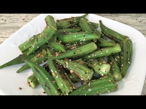 How to Cook Okra that is Slime-Free! Great for those with diabetes!