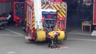Manoeuvre incendie domestique SDIS78