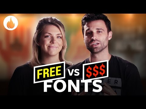 Free Alternatives For 5 Great Fonts