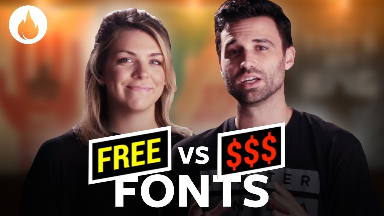 Free Fonts: Ten Popular Fonts & Their Free Alternatives