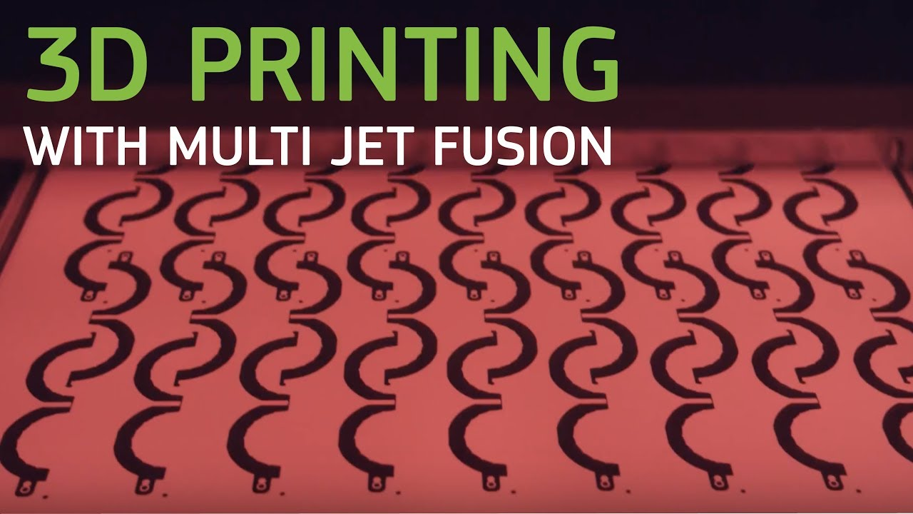 3D Printing with Multi Jet Fusion