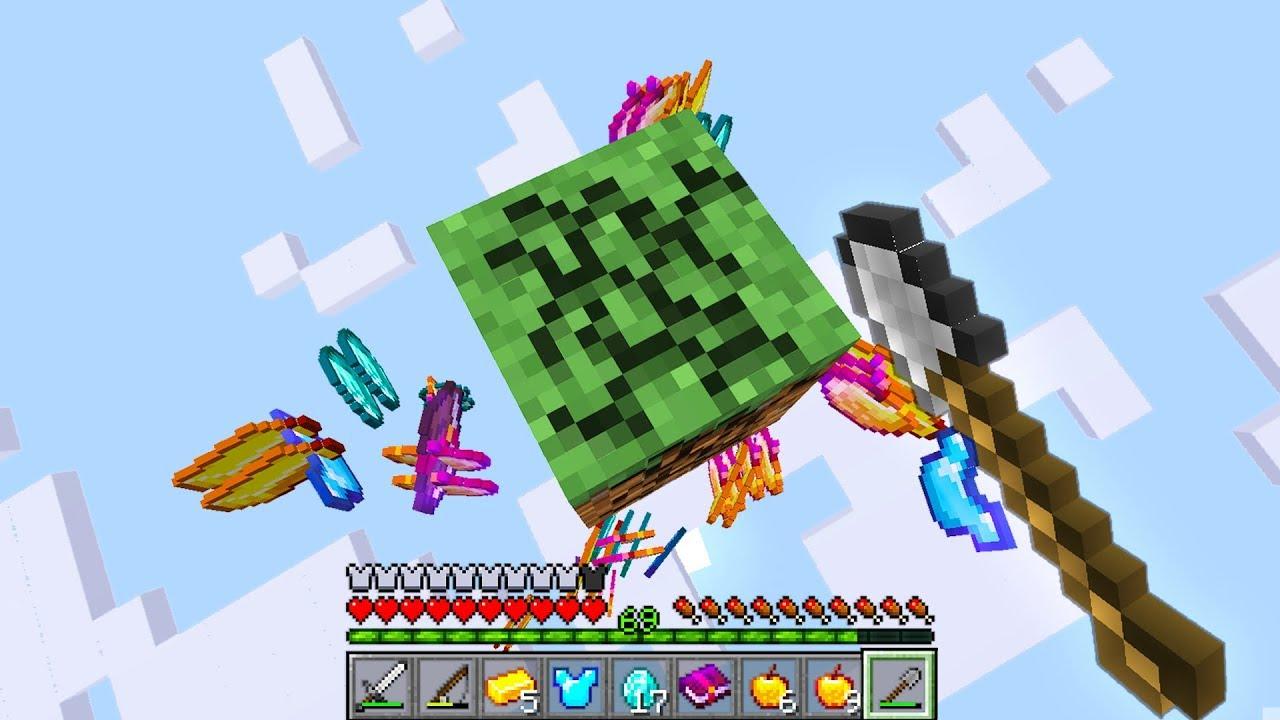 Minecraft Randomizer UHC but you only get 10 block..